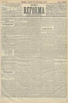 Nowa Reforma (numer popołudniowy). 1910, nr195