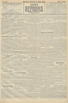 Nowa Reforma (numer poranny). 1910, nr198