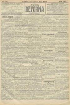 Nowa Reforma (numer poranny). 1910, nr202