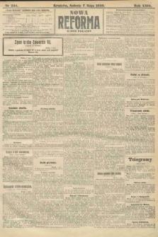 Nowa Reforma (numer poranny). 1910, nr204