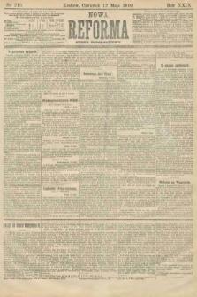 Nowa Reforma (numer popołudniowy). 1910, nr213