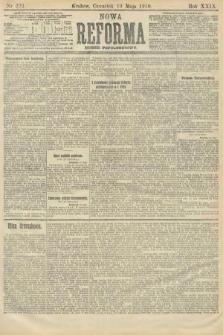 Nowa Reforma (numer popołudniowy). 1910, nr223