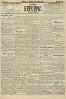 Nowa Reforma (numer poranny). 1910, nr226