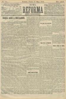 Nowa Reforma (numer popołudniowy). 1910, nr235