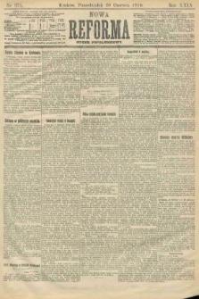 Nowa Reforma (numer popołudniowy). 1910, nr275