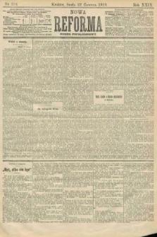 Nowa Reforma (numer popołudniowy). 1910, nr279