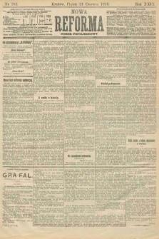 Nowa Reforma (numer popołudniowy). 1910, nr283