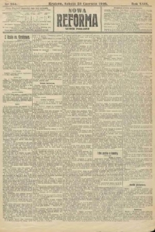 Nowa Reforma (numer poranny). 1910, nr284