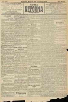 Nowa Reforma (numer poranny). 1910, nr288