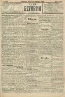 Nowa Reforma (numer poranny). 1910, nr296