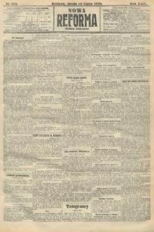 Nowa Reforma (numer poranny). 1910, nr312