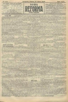 Nowa Reforma (numer poranny). 1910, nr316