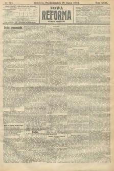Nowa Reforma (numer poranny). 1910, nr321