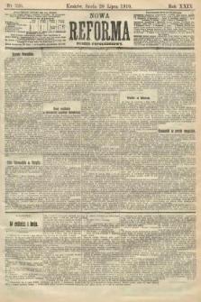 Nowa Reforma (numer popołudniowy). 1910, nr326