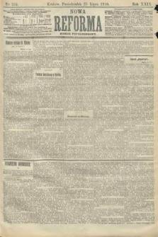 Nowa Reforma (numer popołudniowy). 1910, nr334