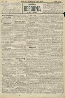 Nowa Reforma (numer poranny). 1910, nr335