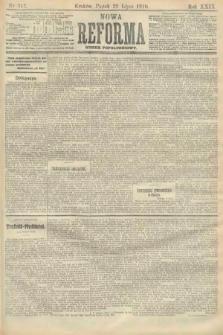 Nowa Reforma (numer popołudniowy). 1910, nr342