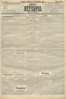Nowa Reforma (numer poranny). 1910, nr347