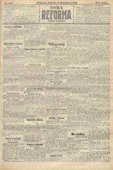 Nowa Reforma (numer poranny). 1910, nr355