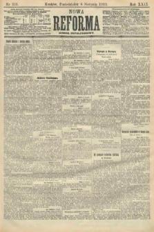Nowa Reforma (numer popołudniowy). 1910, nr358