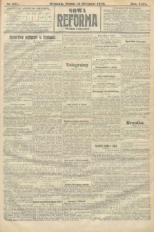 Nowa Reforma (numer poranny). 1910, nr361