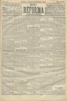 Nowa Reforma (numer popołudniowy). 1910, nr370