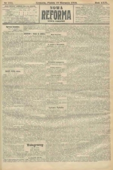 Nowa Reforma (numer poranny). 1910, nr375