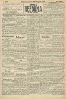 Nowa Reforma (numer poranny). 1910, nr377