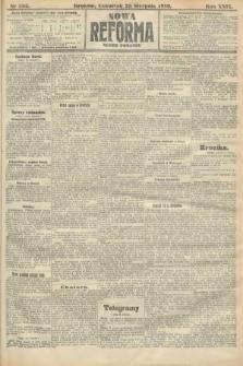 Nowa Reforma (numer poranny). 1910, nr385