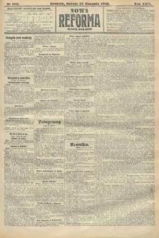 Nowa Reforma (numer poranny). 1910, nr389