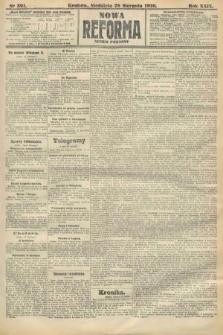 Nowa Reforma (numer poranny). 1910, nr391