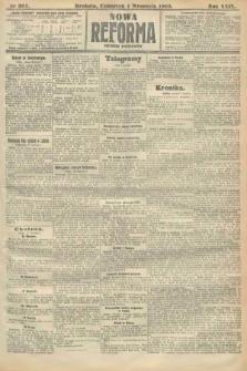 Nowa Reforma (numer poranny). 1910, nr397