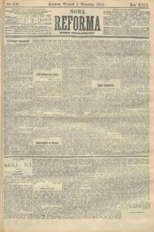 Nowa Reforma (numer popołudniowy). 1910, nr406