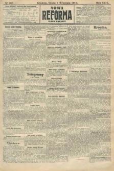 Nowa Reforma (numer poranny). 1910, nr407