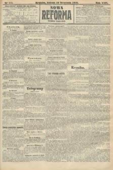 Nowa Reforma (numer poranny). 1910, nr411