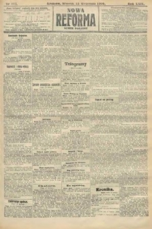 Nowa Reforma (numer poranny). 1910, nr415