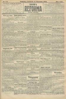 Nowa Reforma (numer poranny). 1910, nr419