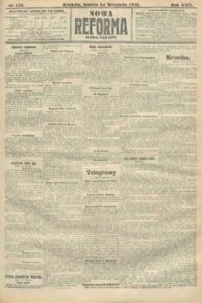 Nowa Reforma (numer poranny). 1910, nr435