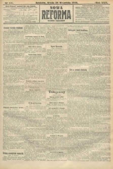 Nowa Reforma (numer poranny). 1910, nr441