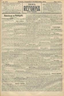 Nowa Reforma (numer poranny). 1910, nr455