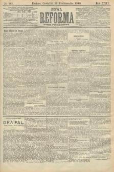 Nowa Reforma (numer popołudniowy). 1910, nr468