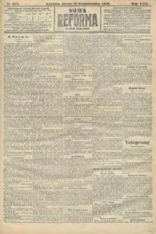 Nowa Reforma (numer poranny). 1910, nr477