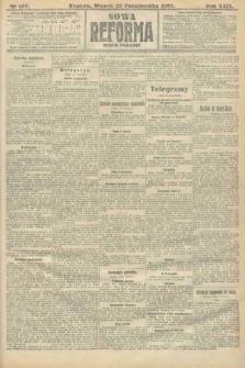 Nowa Reforma (numer poranny). 1910, nr487