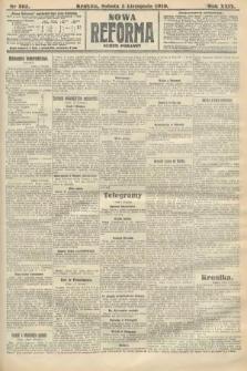 Nowa Reforma (numer poranny). 1910, nr505