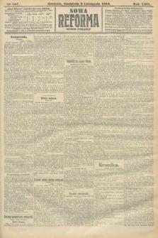 Nowa Reforma (numer poranny). 1910, nr507