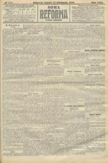 Nowa Reforma (numer poranny). 1910, nr517
