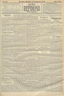 Nowa Reforma (numer poranny). 1910, nr519