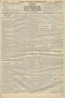 Nowa Reforma (numer poranny). 1910, nr525