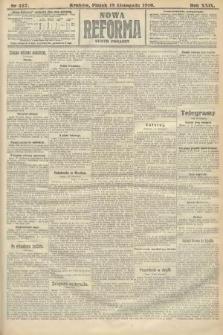 Nowa Reforma (numer poranny). 1910, nr527