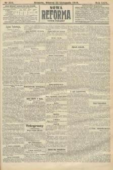 Nowa Reforma (numer poranny). 1910, nr533